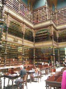 Superbe bibliothèque à Rio