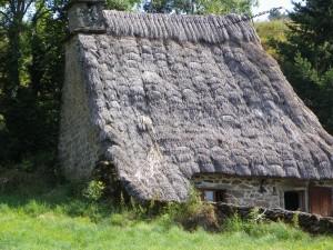 chaumiere toit de chaume