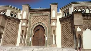 belle mosquée Mohamed V à Agadir