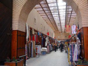 Souk de la médina de Marrakech