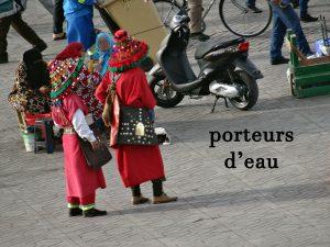 porteur d'eau au Maroc