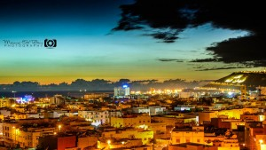 Ville d'Agadir by night